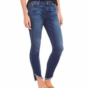 NWT 7 for All Mankind Thanes Ankle Skinny Leg